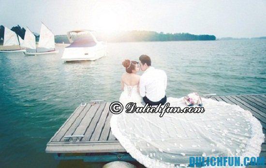 Những địa điểm chụp ảnh cưới đẹp ở Vĩnh Phúc. Một số địa điểm chụp ảnh cưới lãng mạn, nổi tiếng ở Vĩnh Phúc