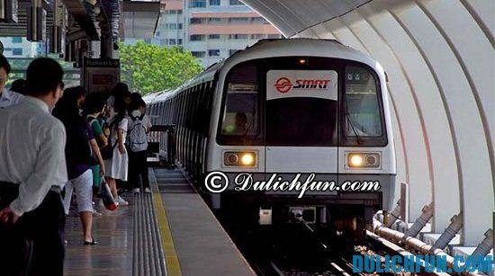 Đi tàu điện ngầm MRT ở Singapore như thế nào? Hướng dẫn cách đi tàu điện ngầm MRT ở Singapore đơn giản, thuận tiện