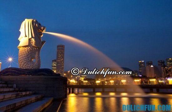 Chia sẻ kinh nghiệm du lịch Singapore giá rẻ, tiết kiệm trong 4 ngày 3 đêm. Hướng dẫn du lịch Singapore 4N3Đ tự túc, an toàn và thuận lợi