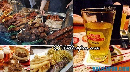 Ăn gì khi du lịch Frankfurt? Khám phá các món ăn ngon, đặc sản hấp dẫn ở Frankfurt