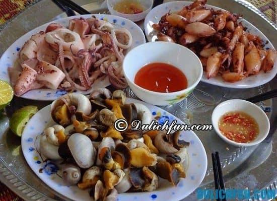 Ăn gì khi du lịch biển Hải Thịnh? Những món ăn ngon, đặc sản nổi tiếng ở biển Hải Thịnh
