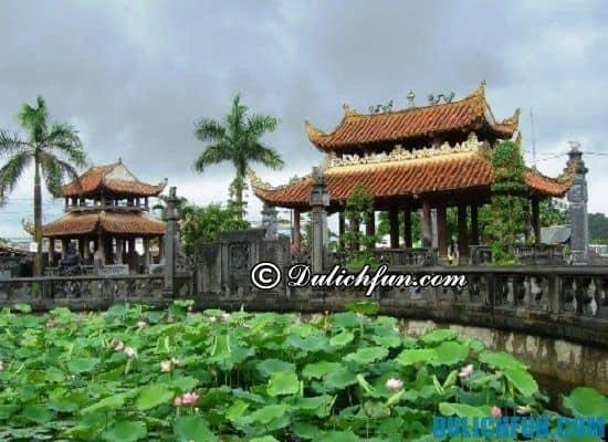 Các địa điểm tham quan, du lịch đẹp, thú vị ở Nam Định bạn không nên bỏ lỡ. Phủ dày, địa điểm tham quan nổi tiếng ở Nam Định
