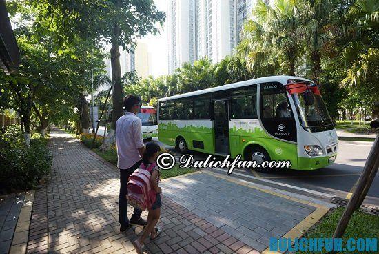 Hướng dẫn du lịch Ecopark và phương tiện du lịch Ecopark
