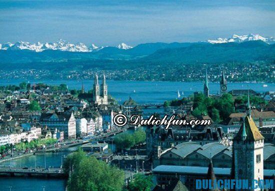 Nên du lịch Zurich mùa nào đẹp nhất? Thời điểm lý tưởng nên du lịch Zurich