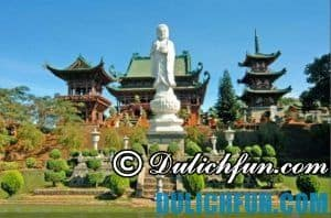 Du lịch Pleiku có gì thú vị? Chùa Minh Thành, địa điểm tham quan du lịch nổi tiếng nhất ở Pleiku