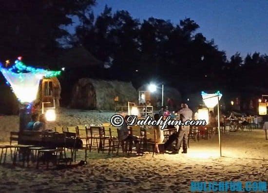 Du lịch đảo Thanh Lân có gì thú vị? BBQ bãi biển, trải nghiệm hấp dẫn, thú vị khi du lịch đảo Thanh Lân