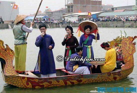 Hội lim, lễ hội lớn ở Bắc Ninh. Những lễ hội đầu năm ở miền Bắc bạn nên biết