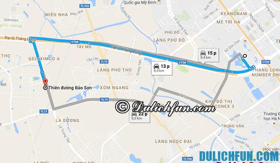 Đường đi du lịch Thiên Đường Bảo Sơn như thế nào? Hướng dẫn cách đi du lịch tới Thiên Đường Bảo Sơn