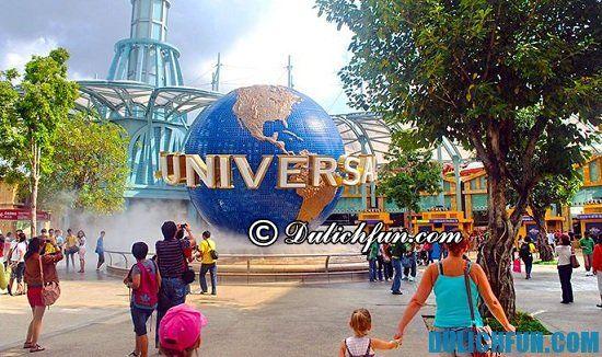 Chia sẻ kinh nghiệm du lịch Universal Singapore vui vẻ, hấp dẫn. Hướng dẫn du lịch Universal Singapore