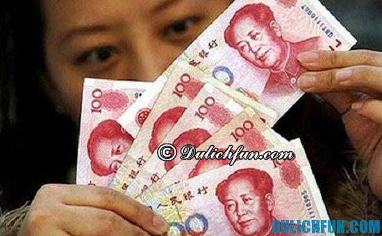 Du lịch Trung Quốc nên lưu ý điều gì? Một số lưu ý nên biết khi du lịch Trung Quốc. Lưu ý đổi tiền Trung Quốc tránh bị tiền giả
