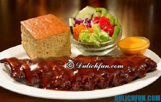 Kinh nghiệm vui chơi, ăn uống, tham quan Dallas: Ăn gì khi du lịch Dallas? Món ăn ngon, đặc sản nổi tiếng ở Dallas