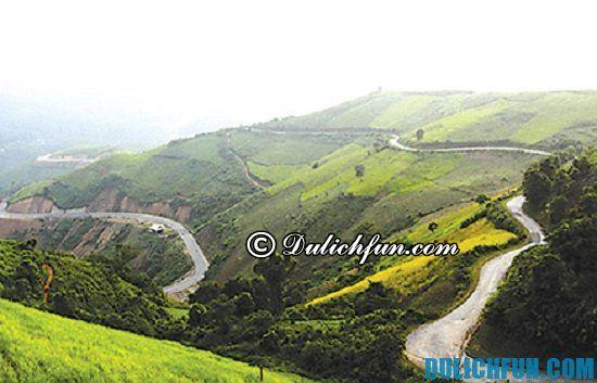 Danh sách những địa điểm tham quan, du lịch ở Điện Biên hot nhất. Đèo Pha Đin, địa điểm du lịch hút hồn du khách ở Điện Biên