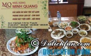 Địa chỉ nhà hàng đặc sản ngon nổi tiếng giá rẻ ở Lạng Sơn: Lạng Sơn có quán ăn đặc sản nào ngon, giá bình dân