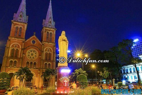 Đi đâu, chơi gì khi du lịch Sài Gòn buổi tối. Khám phá các địa điểm tham quan, du lịch ở Sài Gòn buổi tối sôi nổi, náo nhiệt