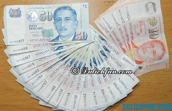 Cần mang theo những gì khi du lịch Singapore. Chuẩn bị hành lý du lịch Singapore, du lịch Singapore nên mang theo bao nhiêu tiền?