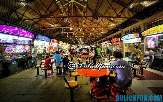 Du lịch Singapore tự túc cần bao nhiêu tiền? Chi phí ăn uống ở Singapore
