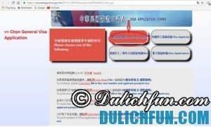 Hướng dẫn điền mẫu đơn xin visa du lịch Đài Loan online A-Z