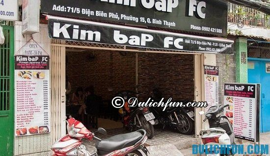 Một số địa chỉ quán ăn Hàn Quốc siêu ngon, giá rẻ ở Sài Gòn không nên bỏ lỡ, Sài Gòn có quán ăn Hàn Quốc nào ngon, bổ, rẻ