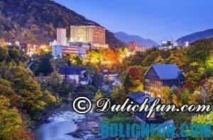 Chia sẻ kinh nghiệm du lịch Sapporo tự túc từ bản thân