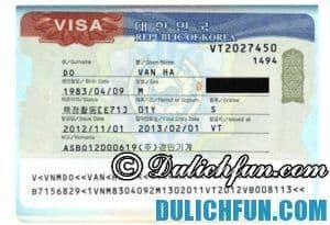 Kinh nghiệm xin visa đi du lịch Hàn Quốc tự túc, thuận lợi
