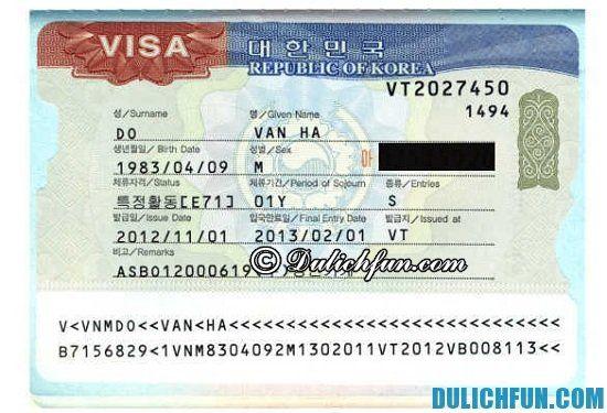 Kinh nghiệm xin visa du lịch, thăm thân Hàn Quốc thuận lợi: Xin visa du lịch Hàn Quốc tự túc có khó không?