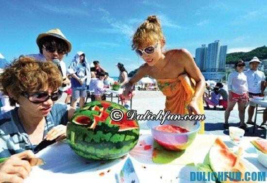 Điểm tên những lễ hội lớn ở Hàn Quốc bạn không nên bỏ lỡ. Lễ hội biển Busan, lễ hội nổi tiếng, thú vị ở Hàn Quốc