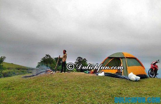 Chia sẻ kinh nghiệm đi phượt Đồng Cao và một số lưu ý khi cắm trại ở Đồng Cao bạn nên biết