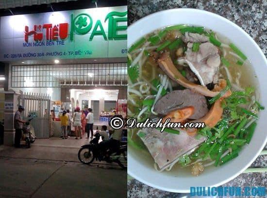 Nhà hàng, quán ăn đặc sản ngon, nổi tiếng ở Bến Tre: Địa điểm ăn uống ngon, bổ, rẻ ở Bến Tre