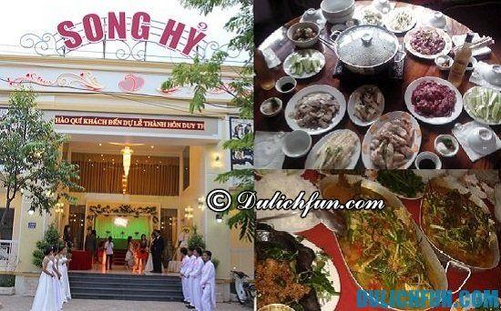 Ăn đặc sản Điện Biên ở đâu? Nhà hàng Song Hỷ, địa chỉ quán ăn ngon, nổi tiếng ở Điện Biên