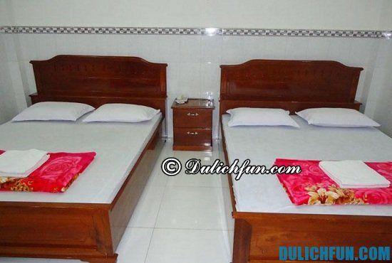 Nhà nghỉ, khách sạn ở Cà Mau giá bình dân, tiện nghi đầy đủ: Khách sạn nào ở Cà Mau gần trung tâm, sạch sẽ