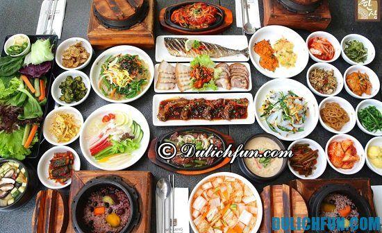 Điểm tên các quán ăn Hàn Quốc ngon, hút khách ở Sài Gòn. Danh sách các nhà hàng, quán ăn Hàn Quốc ngon mê ly ở Sài Gòn