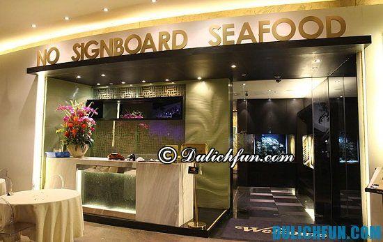 Nên ăn cua sốt ớt Chili Crab ở đâu khi du lịch Singapore? No Signboard Seafood Restaurant, địa chỉ ăn cua sốt ớt Chili Crab ngon, nổi tiếng ở Singapore