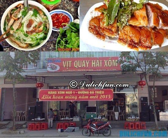 Quán ăn ngon nổi tiếng ở Lạng Sơn: Ăn ở đâu ngon khi đi du lịch Lạng Sơn