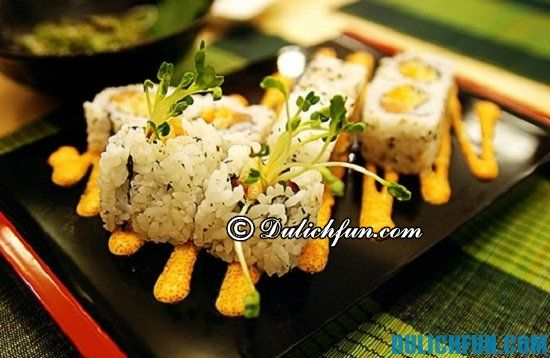 Một số quán ăn Nhật ở Sài Gòn bạn không nên bỏ lỡ. Sushi ba con sóc, quán ăn Nhật nổi tiếng ở Sài Gòn bạn nhất định phải tới