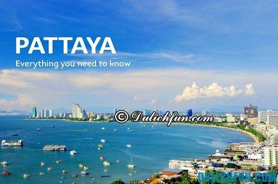 Tư vấn lịch trình tham quan, du lịch Thái Lan 4 ngày 3 đêm tự túc: Nên đi chơi ở đâu khi đi du lịch Thái Lan 4 ngày 3 đêm