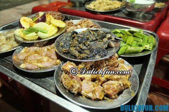 Địa chỉ ăn đồ nướng ngon ở Hà Nội: Hà Nội có quán đồ nướng nào ngon?