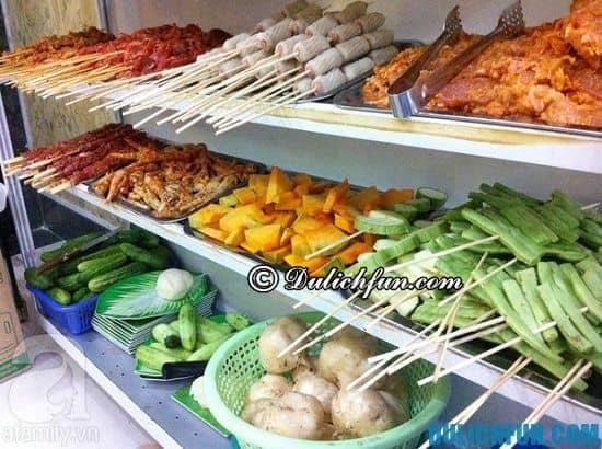 Quán đồ nướng ngon ở Hà Nội: Địa chỉ ăn đồ nướng nổi tiếng ở Hà Nội