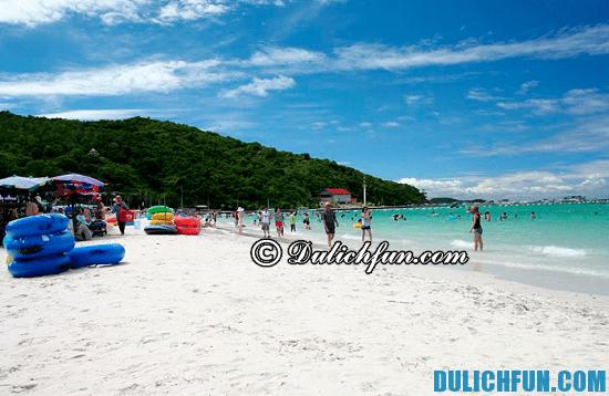 Đi đâu, chơi gì khi du lịch Pattaya? Biển Pattaya, địa điểm du lịch hấp dẫn, thú vị ở Pattaya