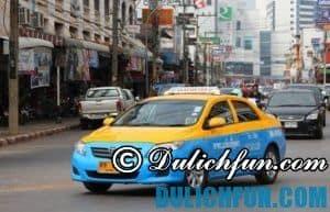 Di chuyển từ Bangkok tới Pattaya như thế nào? Hướng dẫn chi tiết cách di chuyển từ Bangkok tới Pattaya