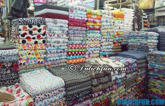 Chợ vải Soái Kinh Lâm, địa điểm mua sắm giá rẻ, nổi tiếng ở Sài Gòn bạn nhất định phải tới