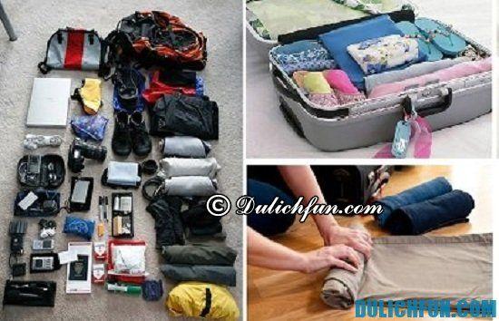 Du lịch Thái Lan cần mang theo những gì? Những vật dụng cần thiết khi du lịch Thái Lan