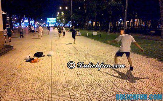 Những địa điểm vui chơi ở Sài Gòn buổi tối không nên bỏ lỡ? Công viên Gia Định, địa điểm vui chơi ở Sài Gòn buổi tối được giới trẻ yêu thích