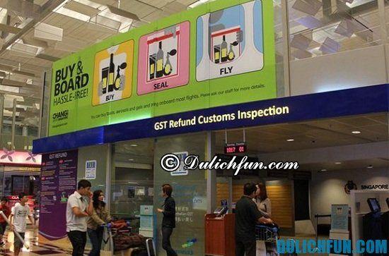 Hoàn thuế ở đâu khi mua sắm ở Singapore? Địa điểm nhận lại tiền hoàn thuế khi mua sắm ở Singapore bạn nên biết