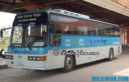Cách đi du lịch Thái Lan bằng xe bus. Hướng dẫn du lịch Thái Lan bằng đường bộ đơn giản, dễ dàng