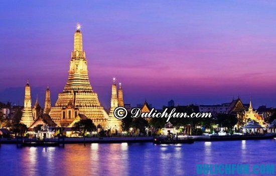 Thông tin và kinh nghiệm du lịch Thái Lan bằng đường bộ từ Việt Nam. Hướng dẫn chi tiết cách di du lịch Thái Lan bằng đường bộ an toàn, thuận lợi và giá rẻ