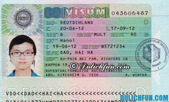 Xin Visa du lịch Đức cần chuẩn bị những gì? Hướng dẫn cách xin Visa du lịch Đức thuận lợi, dễ dàng