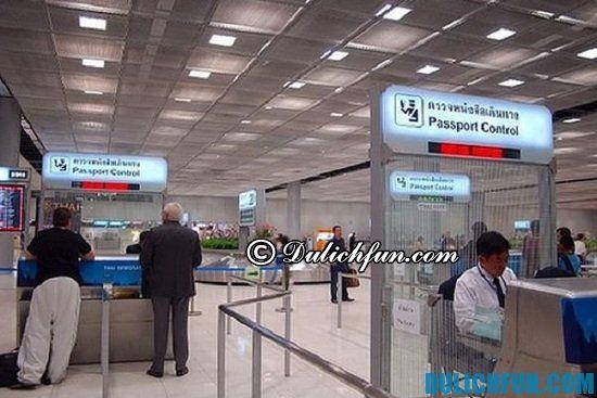 Nhập cảnh khi đi du lịch Thái Land có cần xin visa hay không? Những lưu ý quan trọng và cần thiết khi du lịch Thái Lan bạn nhất định phải biết