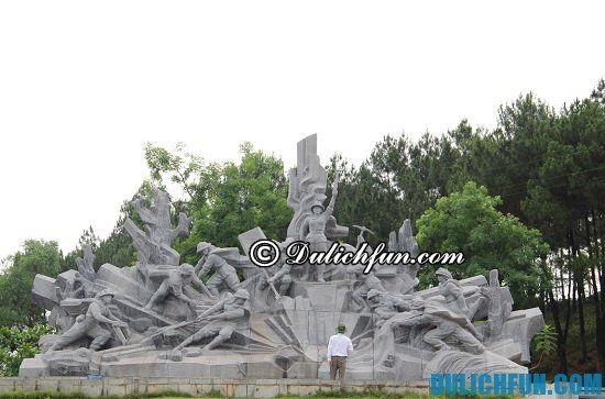 Điểm tên những địa điểm tham quan, vui chơi, chụp ảnh, ngắm cảnh đẹp ở Hà Tĩnh. Ngã ba Đồng Lộc, điểm du lịch hấp dẫn ở Hà Tĩnh