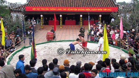 Điểm tên những lễ hội đặc sắc đầu năm ở miền Trung