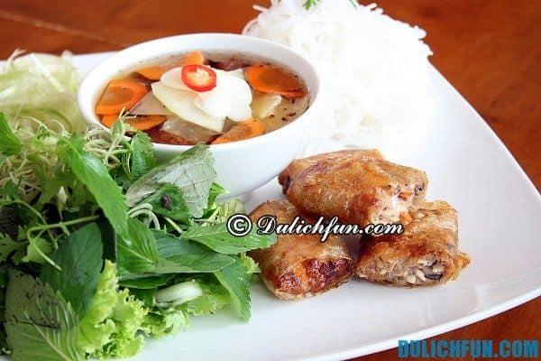 Quán bún chả ngon nổi tiếng ở Hà Nội: Địa chỉ ăn bún chả ngon giá rẻ ở Hà Nội